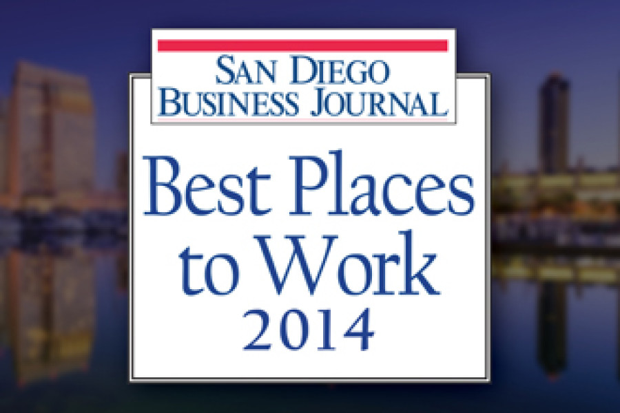 InnoVision Ranks as One of the Top 30 Best Places to Work at the 2014 San Diego Business Journal Awards