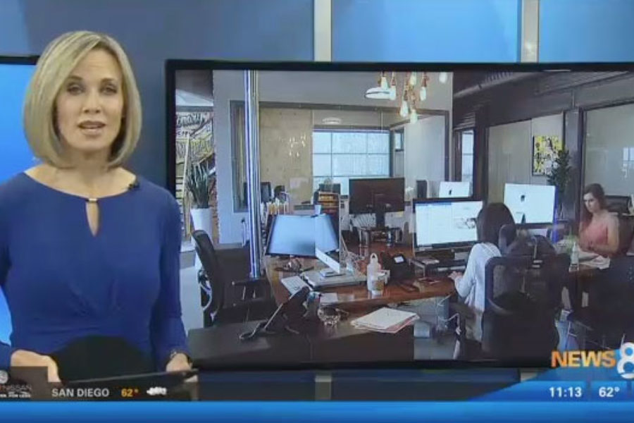 InnoVision Marketing Group Featured on CBS 8 Creative Workspaces
