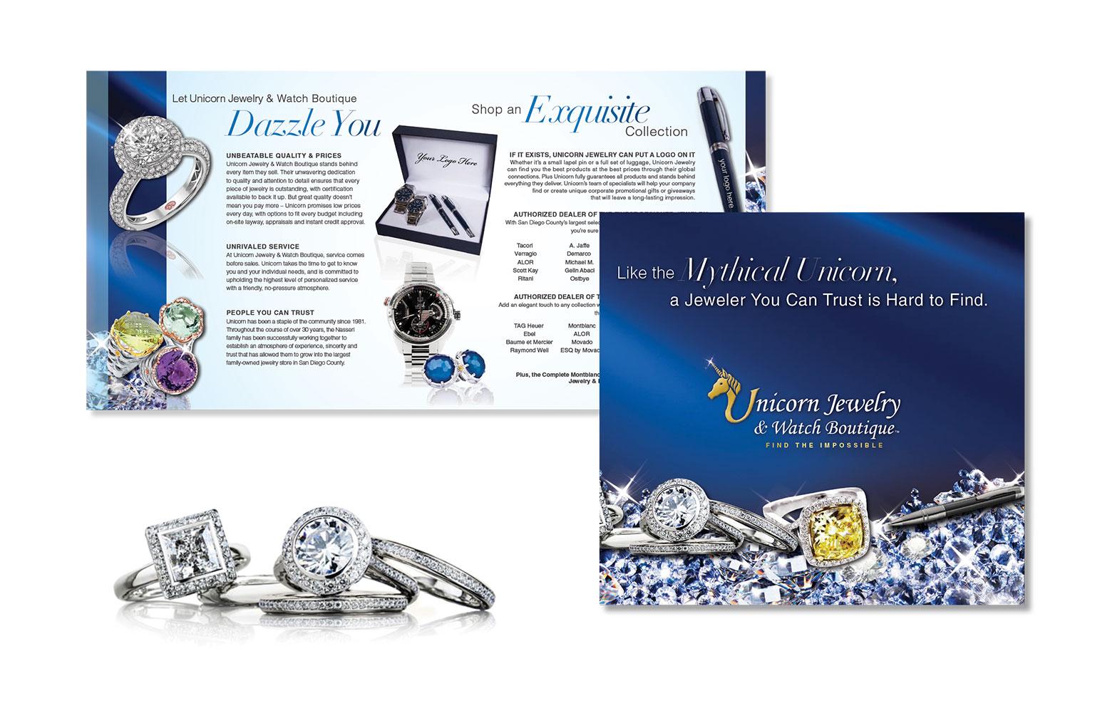 Unicorn Jewelry Brochure