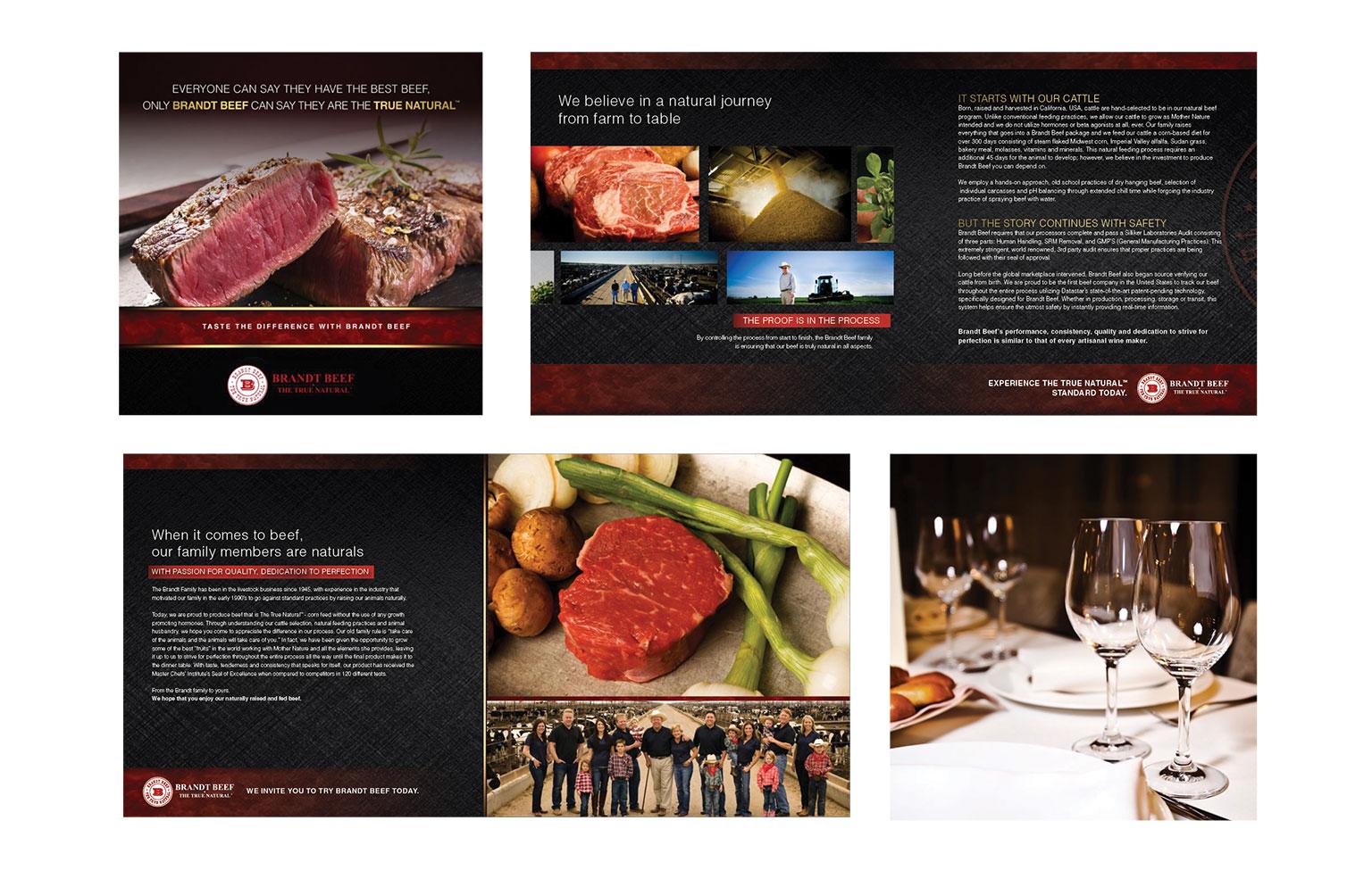 Brandt Beef Brochure