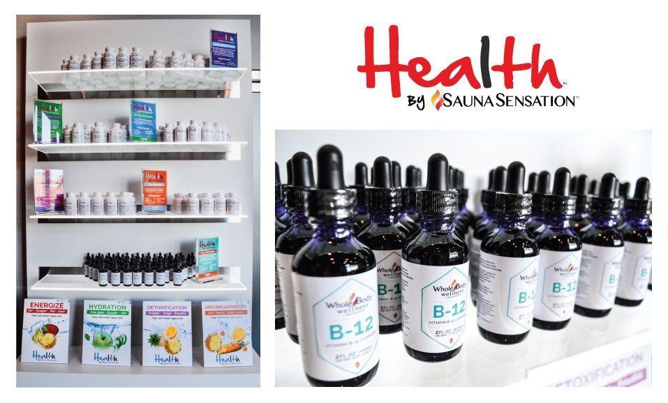 Health By Sauna Sensation Supplements