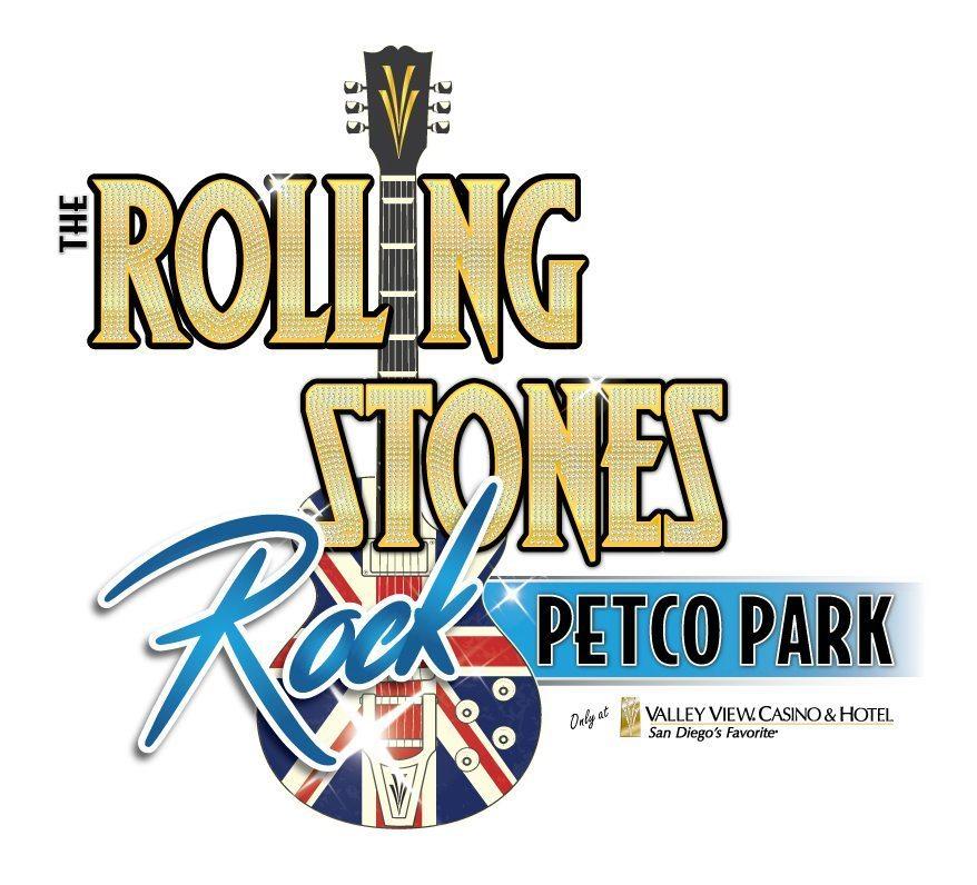 VVCH Rolling Stones Rock Petco Park Logo