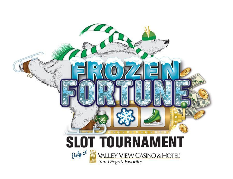 VVCH Frozen Fortune Slot Tournament Logo