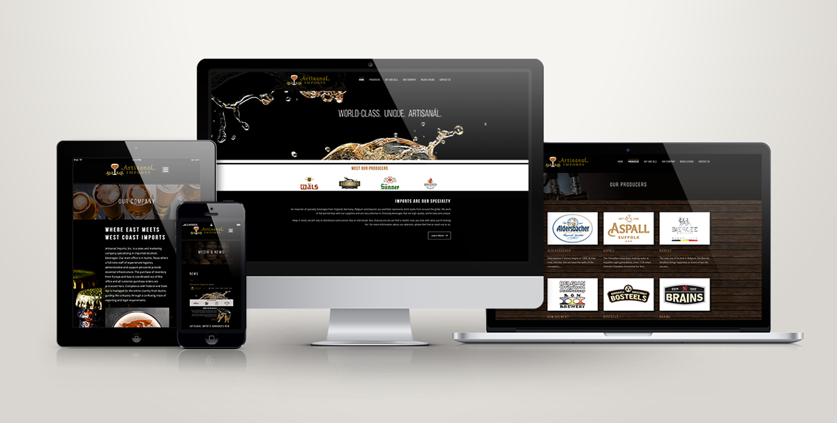 Artisinal Imports Website