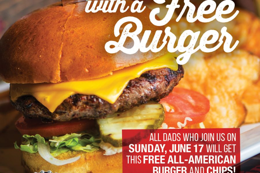 Cold Beers & Cheeseburgers Fathers Day Magazine Ad