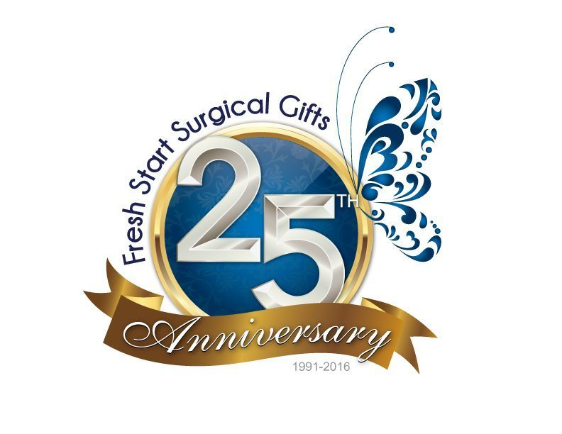Fresh Start Surgical Gifts 25th Anniversary Logo