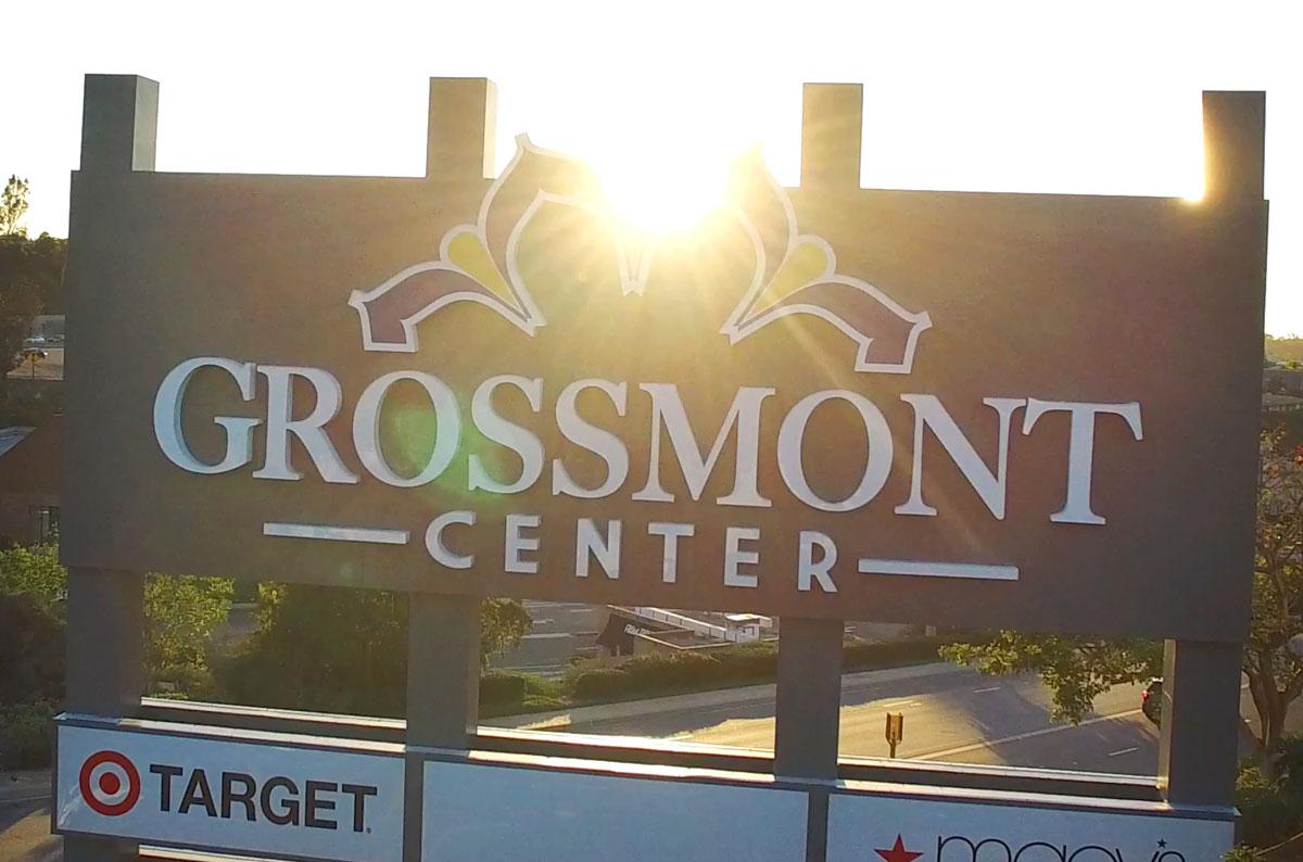 Grossmont Center Monument Sign