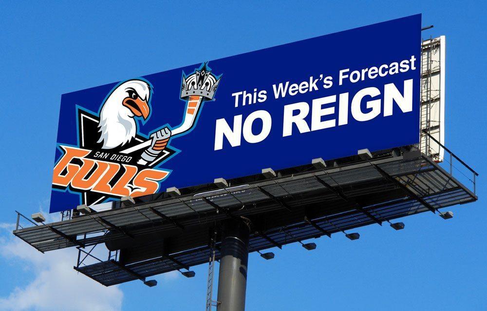 San Diego Gulls LA Billboard