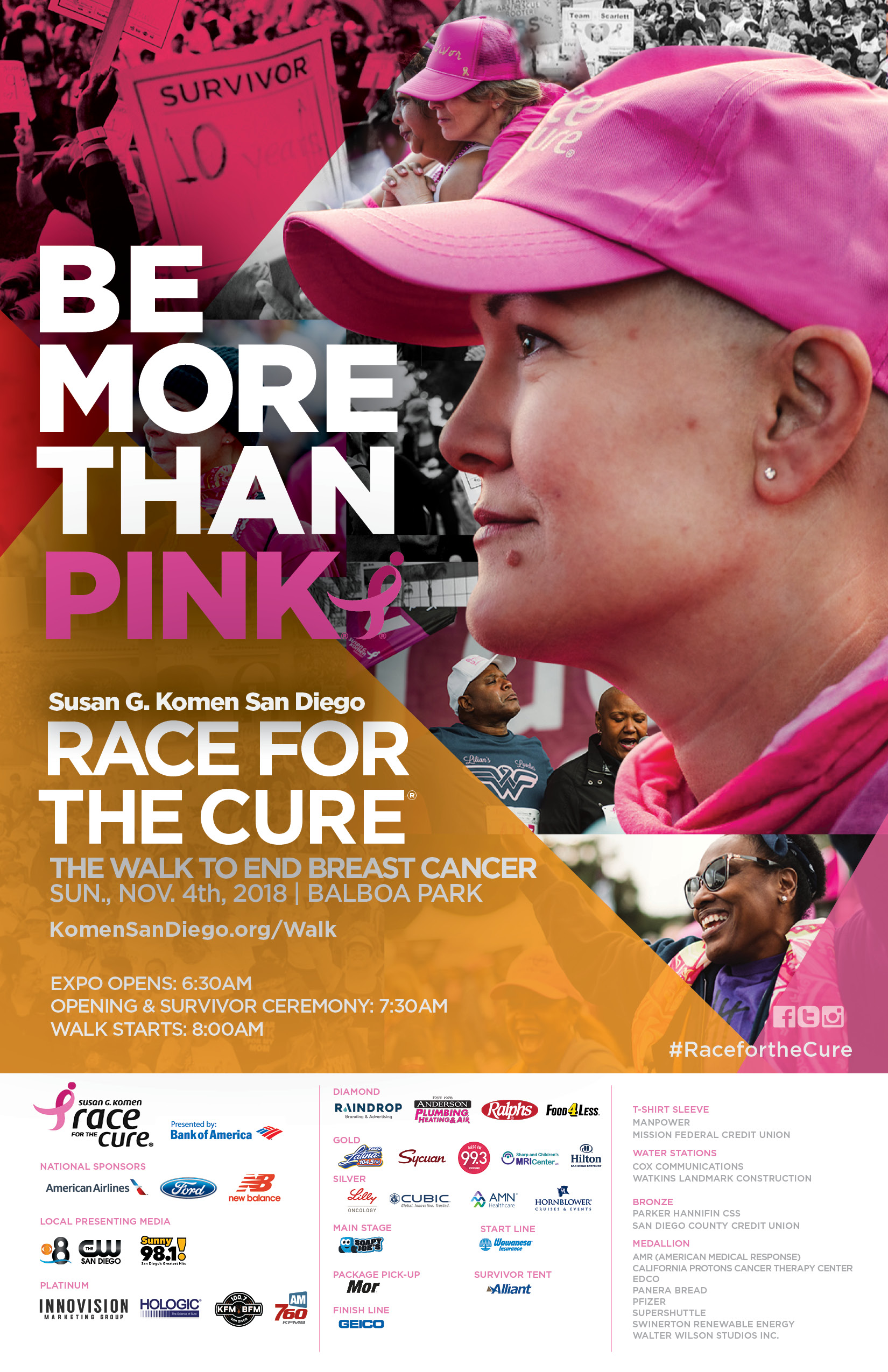 Susan G. Komen Race for the Cure Poster