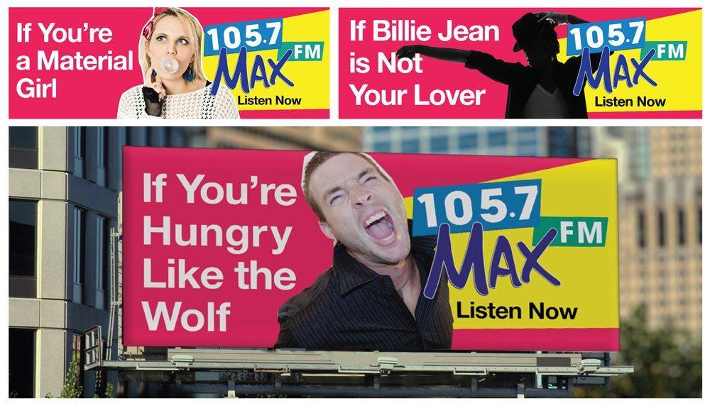 MAX FM Billboards