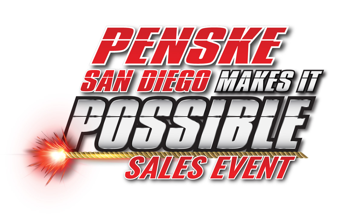 Penske San Diego Makes It Possible Logo