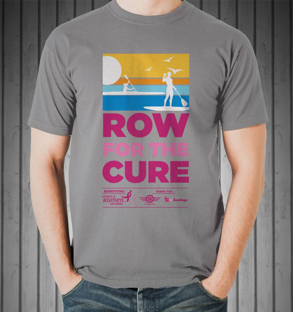 Susan G. Komen Row for the Cure T-shirt