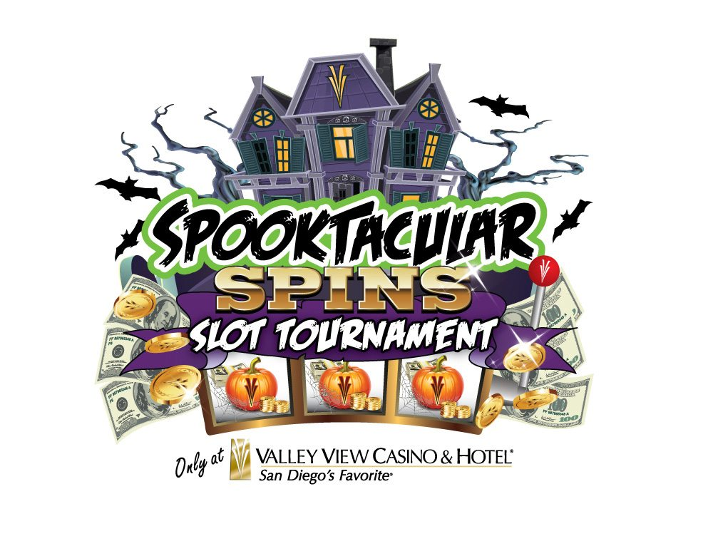 VVCH Spooktacular Spins Slot Tournament Logo