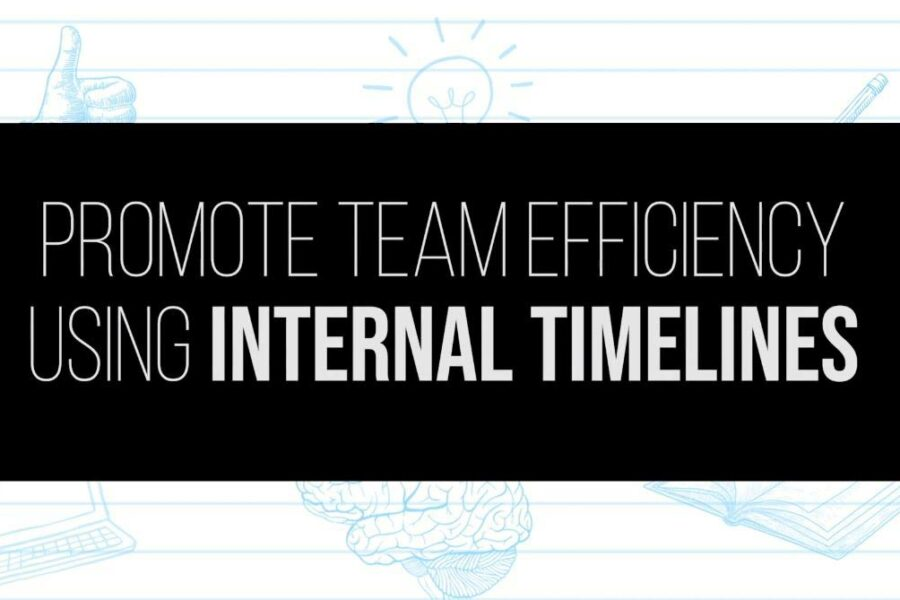 Team Efficiency Using Internal Timelines