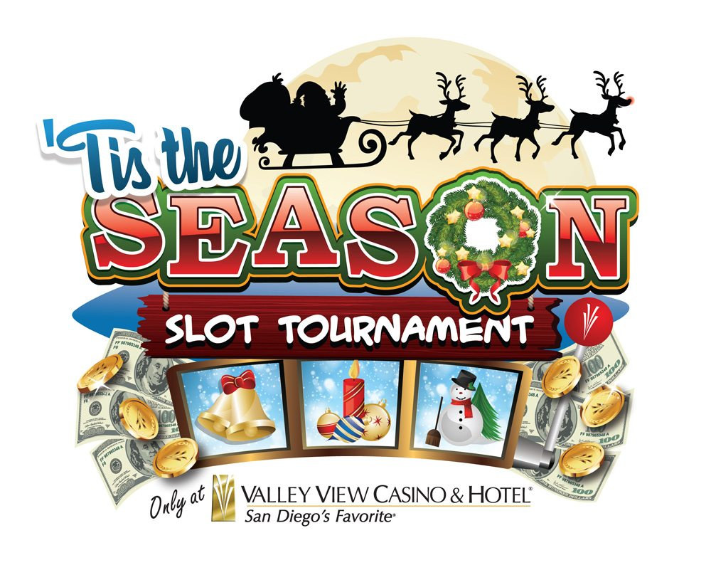 VVCH 'Tis the Season Slot Tournament Logo