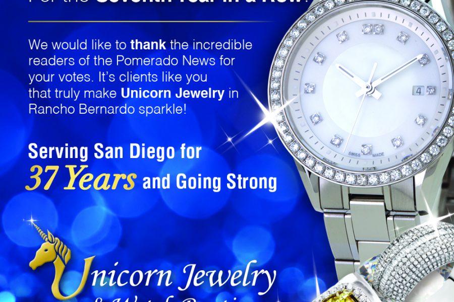 Unicorn Pomerado Magazine Ad
