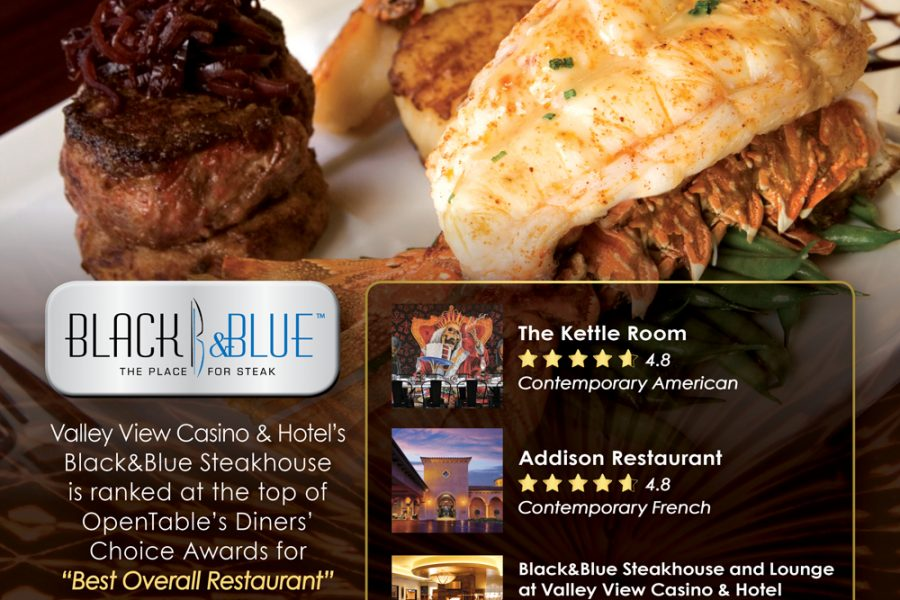 VVC OpenTable Diners' Choice Awards UT Ad