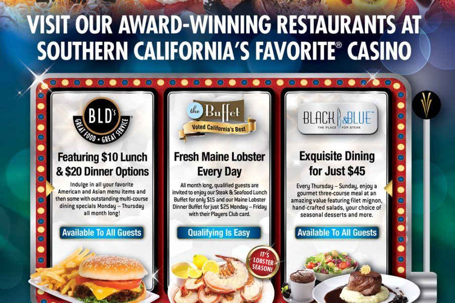 VVC Dining Jackpot UT Ad
