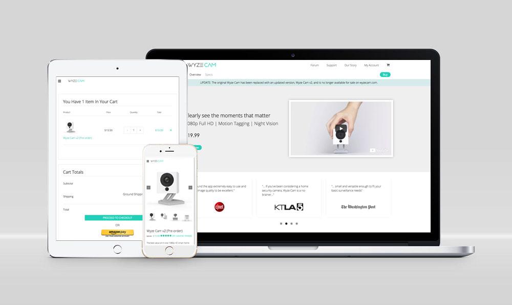 WyzeCam.com Website
