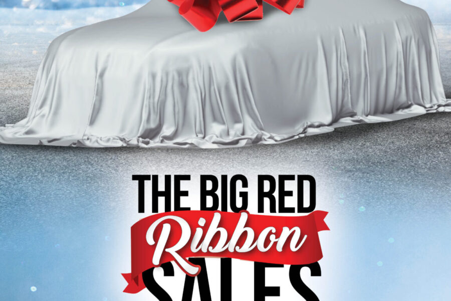 The Big Red Ribbon Sales Event Web Banner