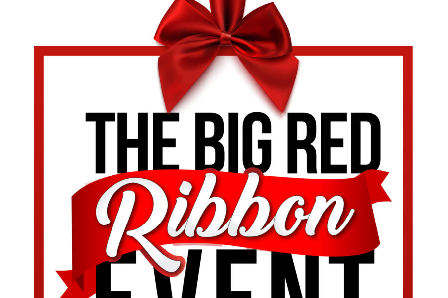 The Big Red Ribbon Event Logo